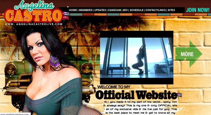 Angelina Castro Official Site